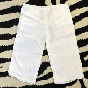 Victoria Secret London Jean Linen Pants
